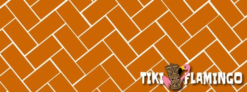 A herringbone pattern for brick and paver patios.
