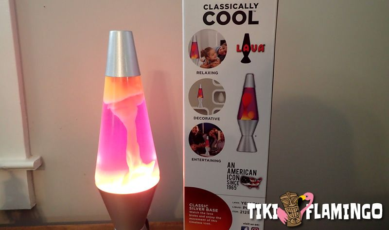 As a lava lamp begins to heat up, it will form towers of wax that break off and fall to the bottom, eventually becoming the more familiar rising and falling globules.